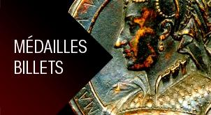 Médailles / Billets